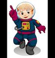 An astronaut vector
