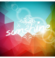 Summer holiday on abstract background vector