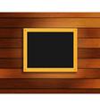 Wood board vector