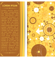 Decorative card vector