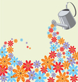 Picture of the many flowers vector