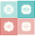 Labels and cards design elements vector