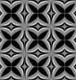 Squared tile floral vector