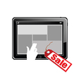 Tablet on sale vector