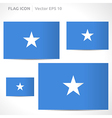 Somalia flag template vector