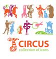 Circus logos vector