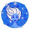 Sea woman vector