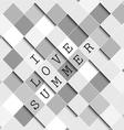 I love summer background vector