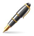 Glossy pen vector