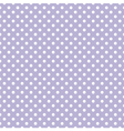 Tile pattern with white polka dots on violet blue vector