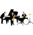 Jazz orchestra vector