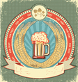 Retro beer label vector