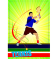 Al 0344 tennis poster 02 vector