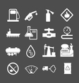 Oil industry and petroleum icons set vector