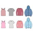 Casual clothes vector