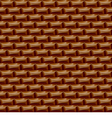 Seamless surface chocolate delicious brown vector
