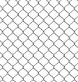 Chain-link fence seamless vector