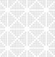 White dots seamless vector