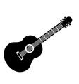 Guitar sign icon vector