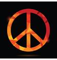 Pacifist symbol vector
