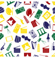 Art icons colorful pattern seamless eps10 vector