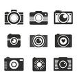 Photocamera collection vector
