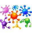 Abstract blots balloons vector