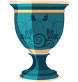 Flowerpot flower vase vector