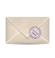 Vintage envelope vector