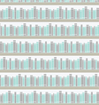 Seamless pattern with books on a bookshelf vector