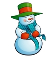 Snowman vector