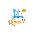 Havwaii with kaimiloa vector
