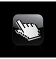 Hand pointer icon vector
