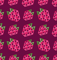 Strawberry seamless pattern - abstract background vector