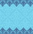Seamless baroque damask luxury background vector