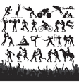 Olympic sport silhouettes vector