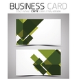 Cmyk business card design template vector