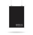 Blackboard sign vector