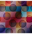 Geometric pattern with gradient transparency vector