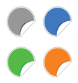 Stickers color vector