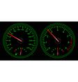 Auto dashboard vector