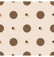 Abstract rounded striped circle pattern eps10 vector