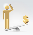 People over money vector