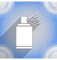 Aerosol paint icon symbol flat modern web design vector