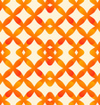 Abstract seamless pattern in orange colors made of vector