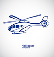 Helicopter 3 vector