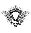 Board sword wings3 vector