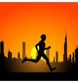 Running man 2 vector