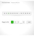 Pagination bars vector