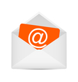 Envelope with e-mail symbol vector